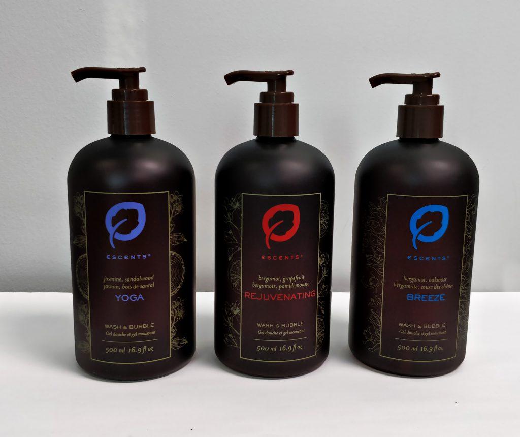 Escents Screenprinted packaging Design