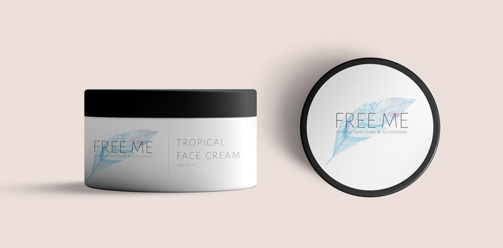 Free Me Face Cream Jar
