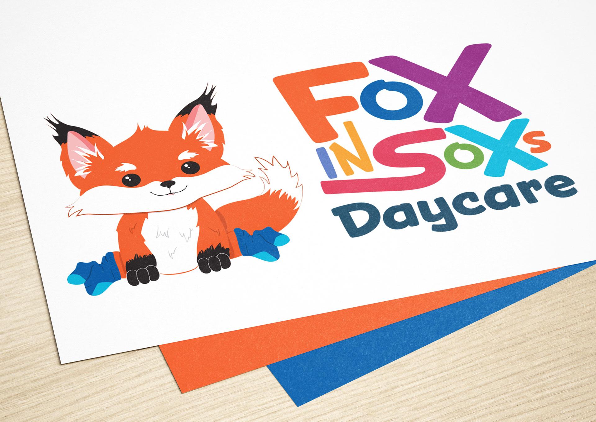 Fox in Sox Logo